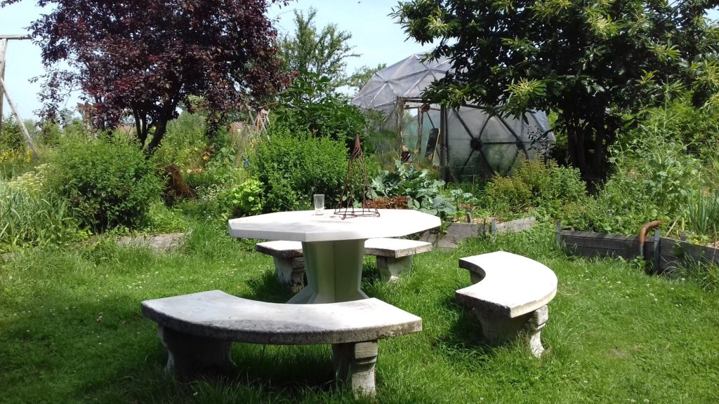 La table du potager