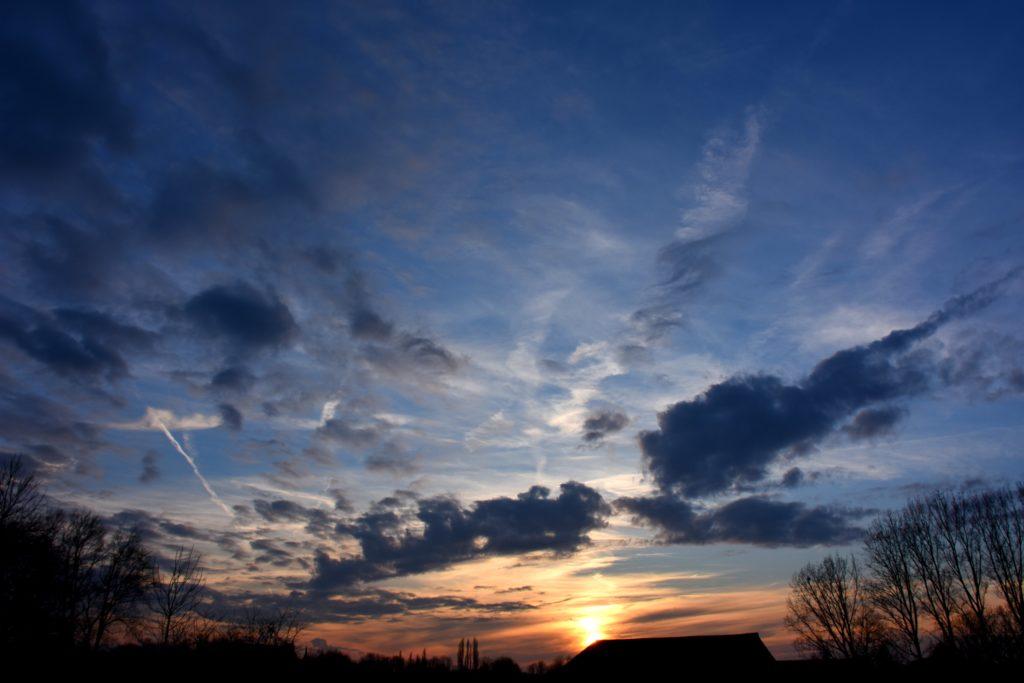 Un ciel a coupé le souffle