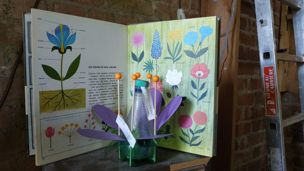 maquette d'une fleur